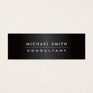 Elegantes Mode-Designer-berufliches modernes Mini Visitenkarte
