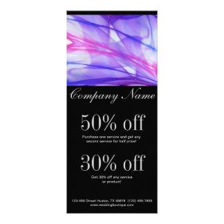 elegantes modernes lila abstraktes Geschäft Werbekarte