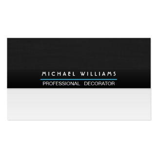 ELEGANTES MODERNES MINIMALISTISCHES Metall PROFESS Visitenkarten