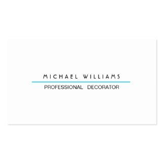 ELEGANTES MODERNES MINIMALISTISCHES Metall PROFESS Visitenkarte