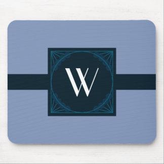 Elegantes Monogramm auf einem Mousepad