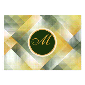 Elegantes Muster-Grün Mini-Visitenkarten