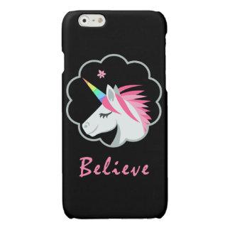 elegantes niedliches glauben an Unicorns emoji
