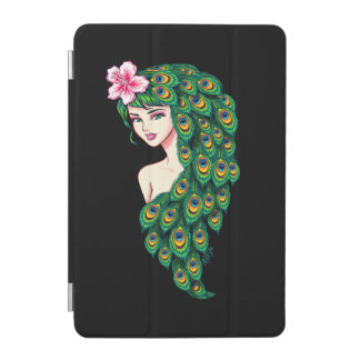 Elegantes Pfau-Göttin-Kunst iPad mini intelligente iPad Mini Cover