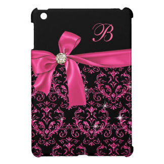 Elegantes schwarzes rosa iPad mini hülle