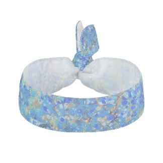 Elegantes Seeblaues schönes Muster Haarschleife