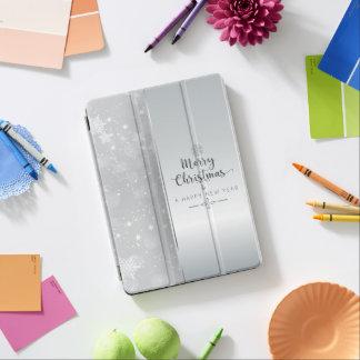 Elegantes silbernes Weihnachts- u. des neuen iPad Air Hülle