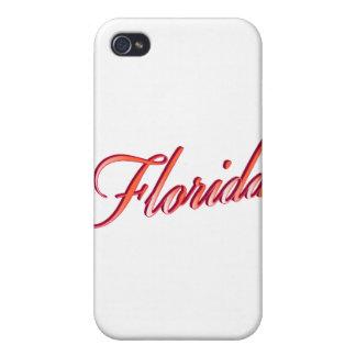 Elegantes Skript Floridas iPhone 4 Schutzhülle