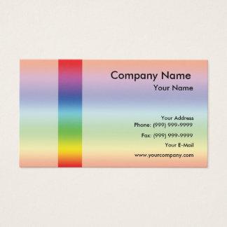Elegantes Spektrum Visitenkarte