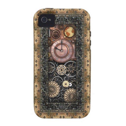 Elegantes Steampunk iPhone 4/4S Hülle
