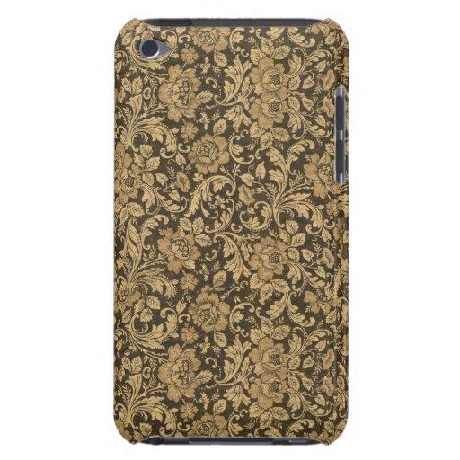 Elegantes Vintages Blumenmuster #2 iPod Touch Case-Mate Hülle