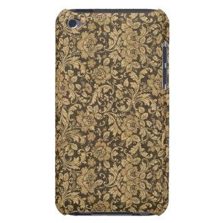 Elegantes Vintages Blumenmuster #2 iPod Case-Mate Hüllen