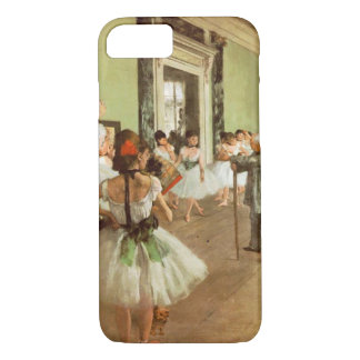 Elegantes Vintages entgasen die Tanz-Klasse, iPhone 8/7 Hülle