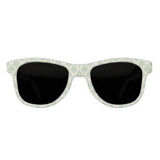 Elegantes Vintages Retro Damast-Muster Brille