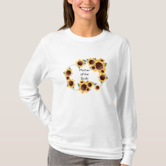 ElegantSunflower-Mutter der Braut T-Shirt