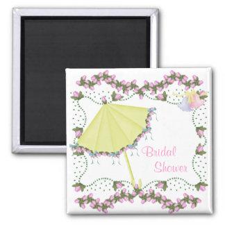 ElegantWedding-Brautdusche Magnets