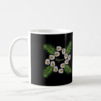 Eleganz-Blumen Kaffeetasse