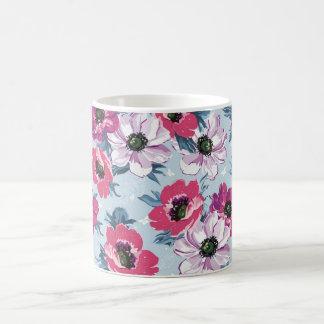 Eleganz-Blumen nahtlos Kaffeetasse