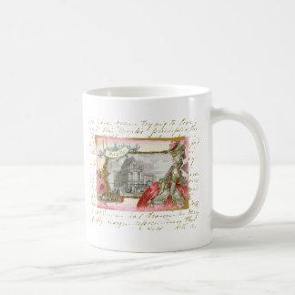 Eleganz-Collage Versailles Marie Antoinette Kaffeetasse