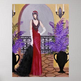 Eleganz im Rot, Plakat