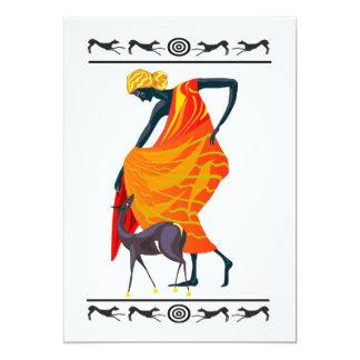 Eleganz-Kwanzaa-Feiertags-Party Einladungen