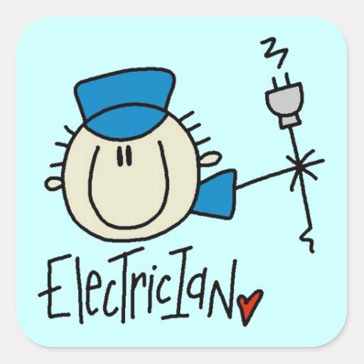elektriker sticker elektriker aufkleber designs. Black Bedroom Furniture Sets. Home Design Ideas