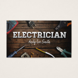 Elektriker Visitenkarte