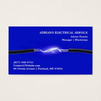 Elektriker-Visitenkarte Visitenkarte