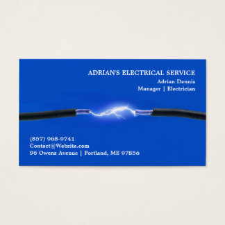 Elektriker-Visitenkarte Visitenkarten
