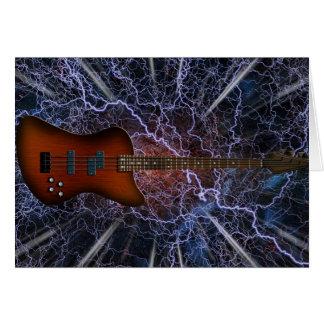 Elektrische Bass-Gitarre Karte