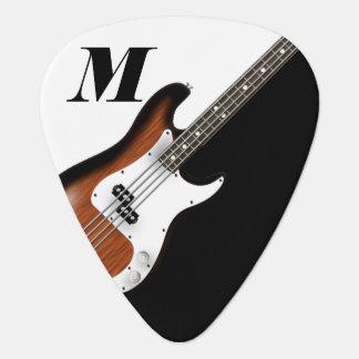 Elektrische Bass-Gitarre Plektrum