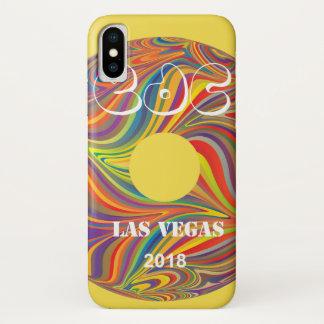 Elektrische Gänseblümchen-Karnevals-Aufzeichnung iPhone X Hülle