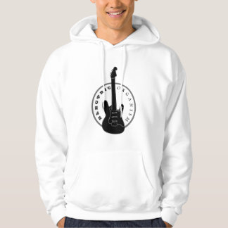 Elektrische Gitarren-Felsen-Musik-cooles Hoodie