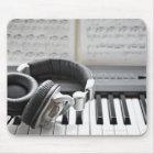 Elektrische Klavier-Tastatur Mousepad