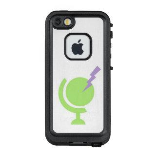 Elektrische Schwarzweiss-Kugel IPhone7 Lifeproof C LifeProof FRÄ' iPhone SE/5/5s Hülle
