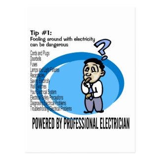 Elektrische Spitze #1 Postkarte