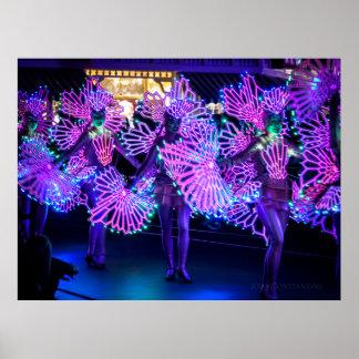 Elektrische Tänzer Poster
