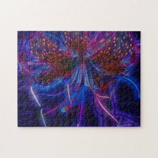 Elektrische Tiger-Lilie Puzzle