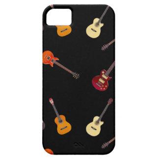 Elektrische u. Akustikgitarre-Collage iPhone 5 Hülle