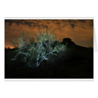 Elektrischer Baum Karte
