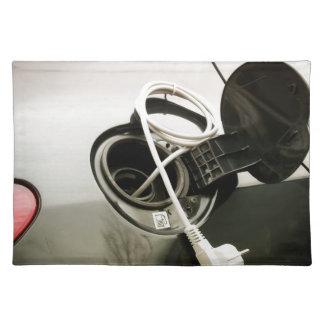 Elektrischer Brennstoff Tischset