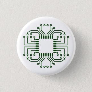 Elektrischer Leiterplatte-Prozessor Runder Button 3,2 Cm