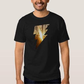 ELEKTRISCHER NATUR Glanz T-shirt
