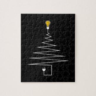 Elektrischer Weihnachtsbaum Puzzle