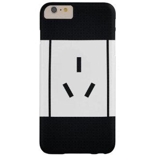 Elektrisches Ähnlichkeits-Zeichen Barely There iPhone 6 Plus Hülle
