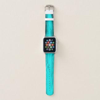 Elektrisches Aqua - Apple-Uhrenarmband Apple Watch Armband