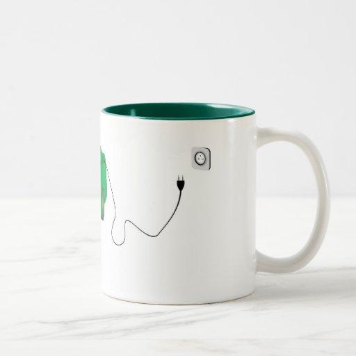 Elektrisches Auto Kaffee Tassen