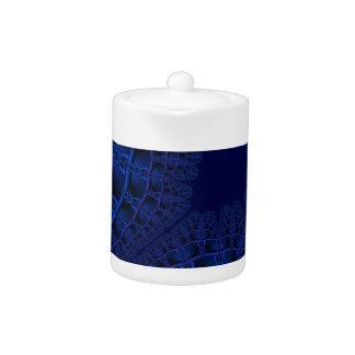 Elektrisches blaues Fraktal