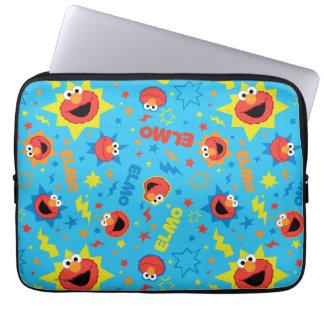 Elektrisches Elmo Muster Laptopschutzhülle
