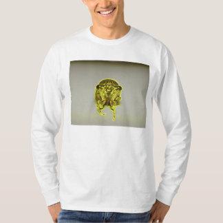 Elektrisches Gelb Zikade-Einfassung-durch KLM T-shirt